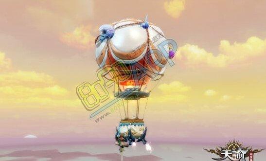 天谕热气球怎么得 新坐骑热气球猎空是声望坐骑吗图片