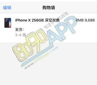 iPhone X支付