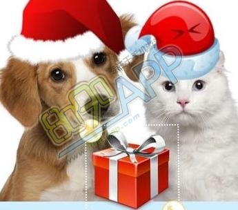 朋友圈圣诞帽