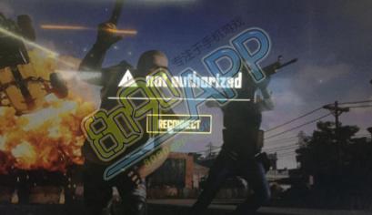 绝地求生not authorized